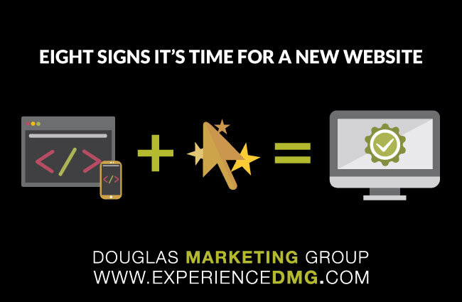 Eight Signs It's Time For A New Website